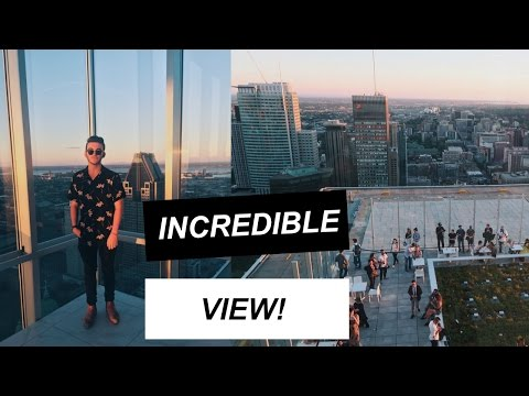 AMAZING MONTREAL OBSERVATION DECK!