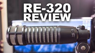 Electro Voice RE320 Broadcast Dynamic Mic Review / Test