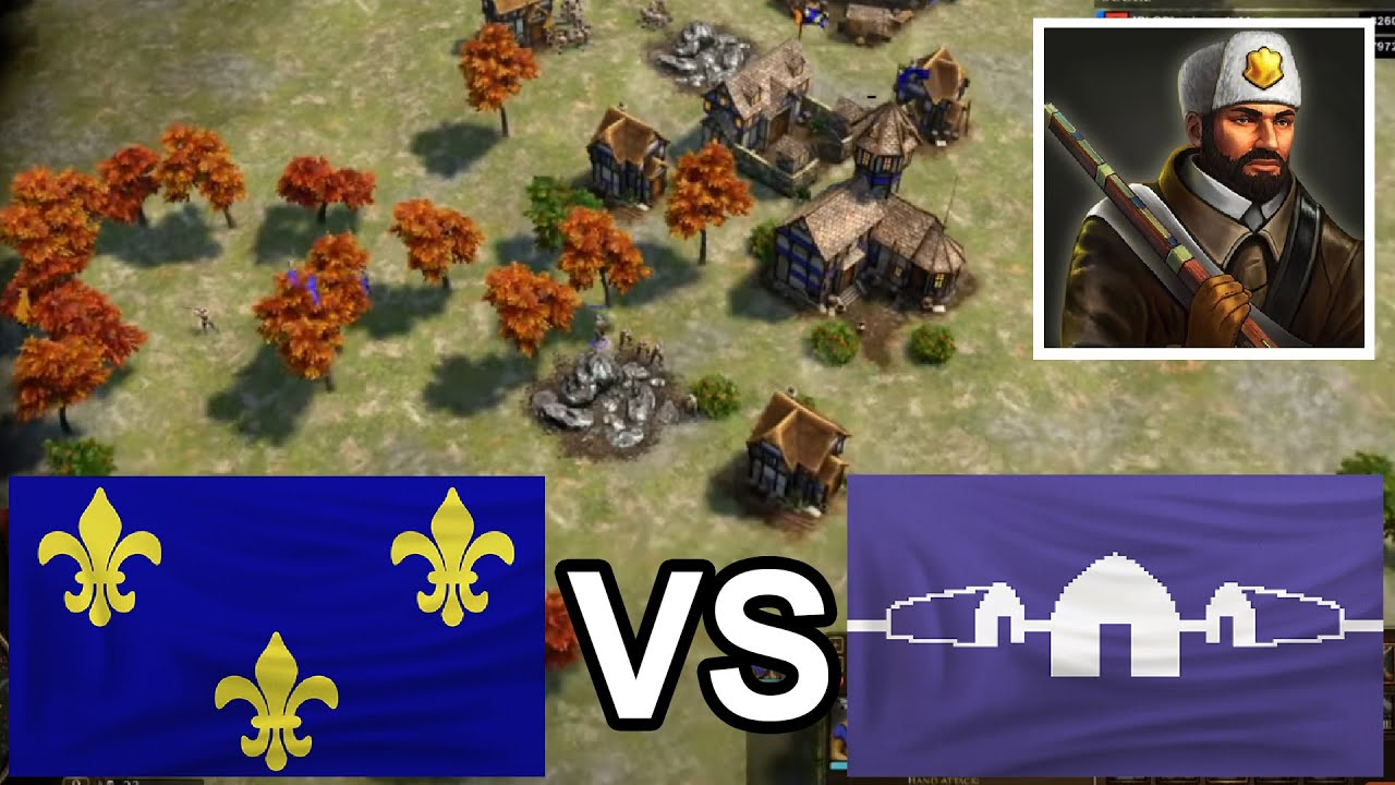 The French semi FF with TP's! [Age of Empires 3: Definitive Edition]