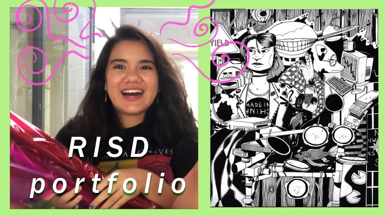 My RISD Accepted Art Portfolio and Tips :) /// FayeMaybe
