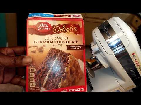 Betty Crocker Vs Betty Crocker Cake Mix Review Part 1 Of 2 - Simple Cooking With Eric