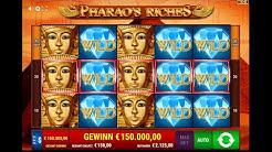 Pharaos Riches Köpfe Vollbild! 🤑💎 EPIC WIN! Online Casino 100 € Einsatz 🤑💎
