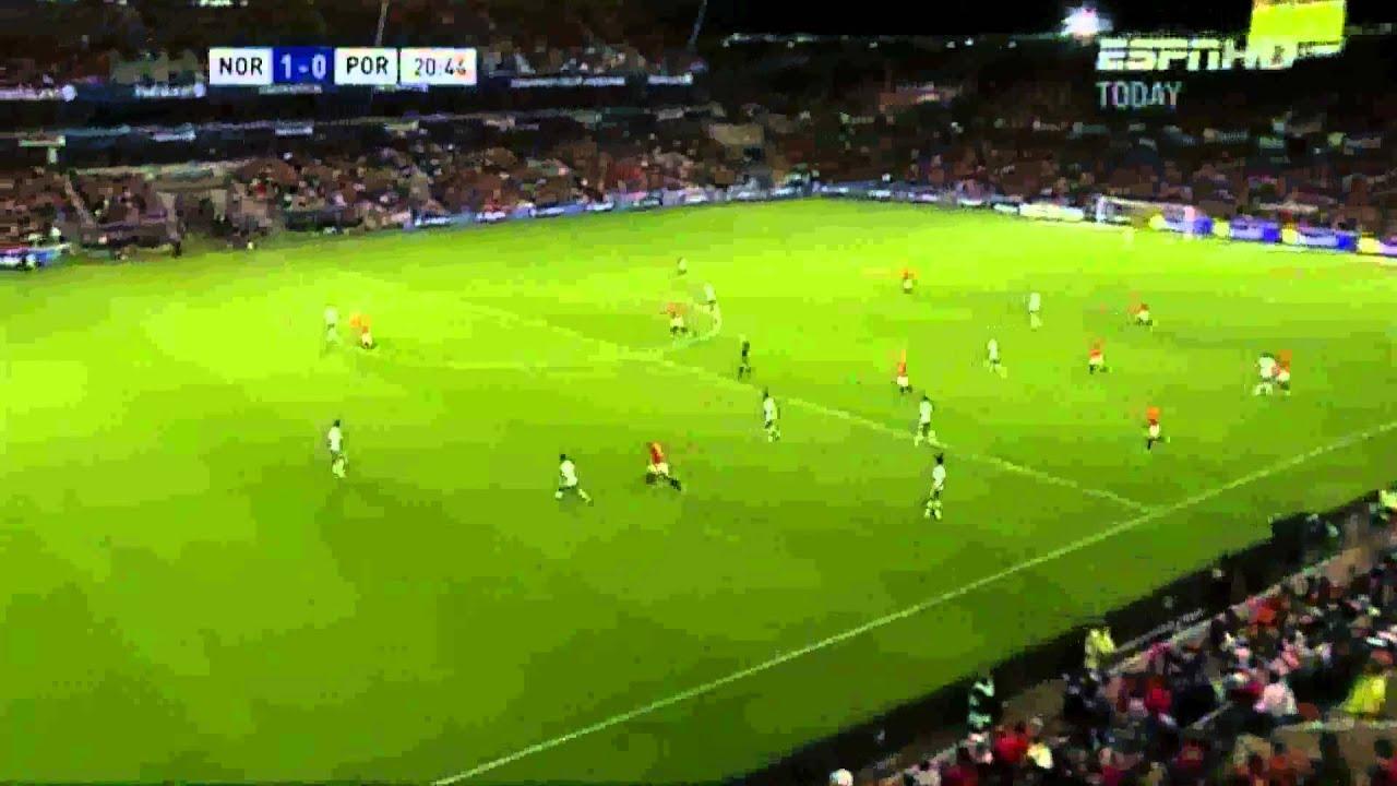 Norge Vs Portugal Oslo Sportslager Fotball Youtube