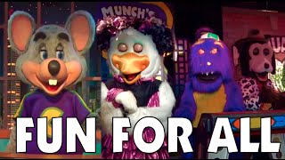 Fun For All - Chuck E. Cheese's East Orlando and Tampa