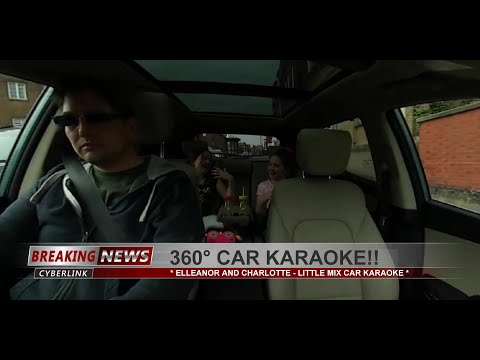 360° Car Karaoke!