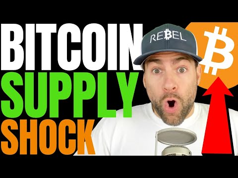BITCOIN 'SUPPLY SHOCK' UNDERWAY AS BTC WITHDRAWAL RATE SPIKES TO 1-YEAR HIGH, WARNS CRYPTO ANALYST!!