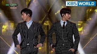 TVXQ! - The Chance of Love | 동방신기 - 운명 [Music Bank / 2018.04.13]