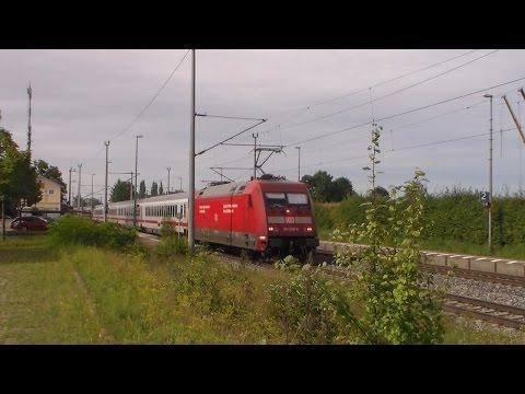 Trainspotting #16: Zugverkehr in Diedorf + Jugendlicher geht über die Gleise