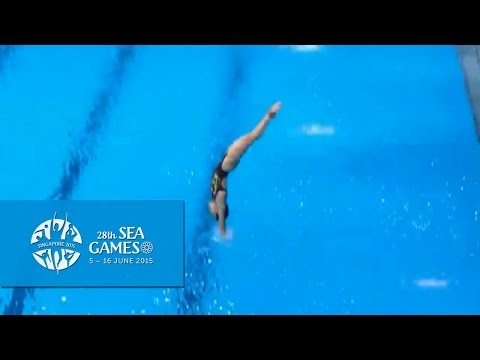Aquatics Diving Women's 3m Springboard Final   (Day 1) | 28th SEA Games Singapore 2015