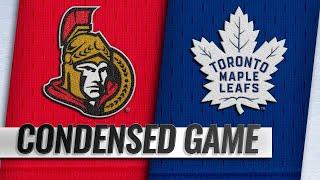 09/18/18 Condensed Game: Senators @ Maple Leafs