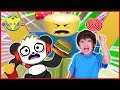 Roblox Eat or Die I WANT CANDY Let's Play with Ryan ToysReview VS bo Panda