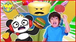 Roblox Eat or Die I WANT CANDY Let's Play with Ryan ToysReview VS Combo Panda