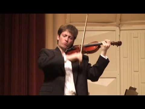 David Radzynski   Wieniawski   Chanson Polonaise