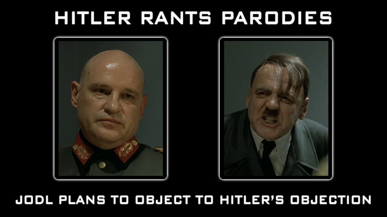 Jodl plans to object to Hitler's objection