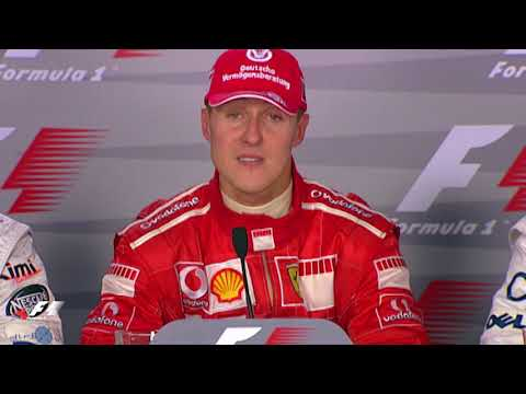 F1 Archive: Michael Schumacher Announces Retirement At Monza In 2006