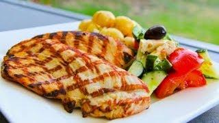 Grilled Turkey Breast Steaks - Christmas Recipe Video