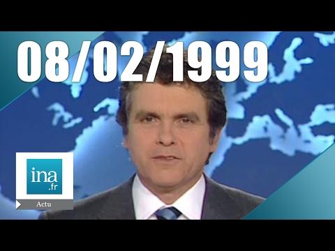 20h France 2 du 08 février 1999 - Funérailles du Roi Hussein de Jordanie   Archive INA