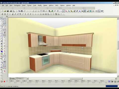 TurboCAD Furniture Maker – Environment