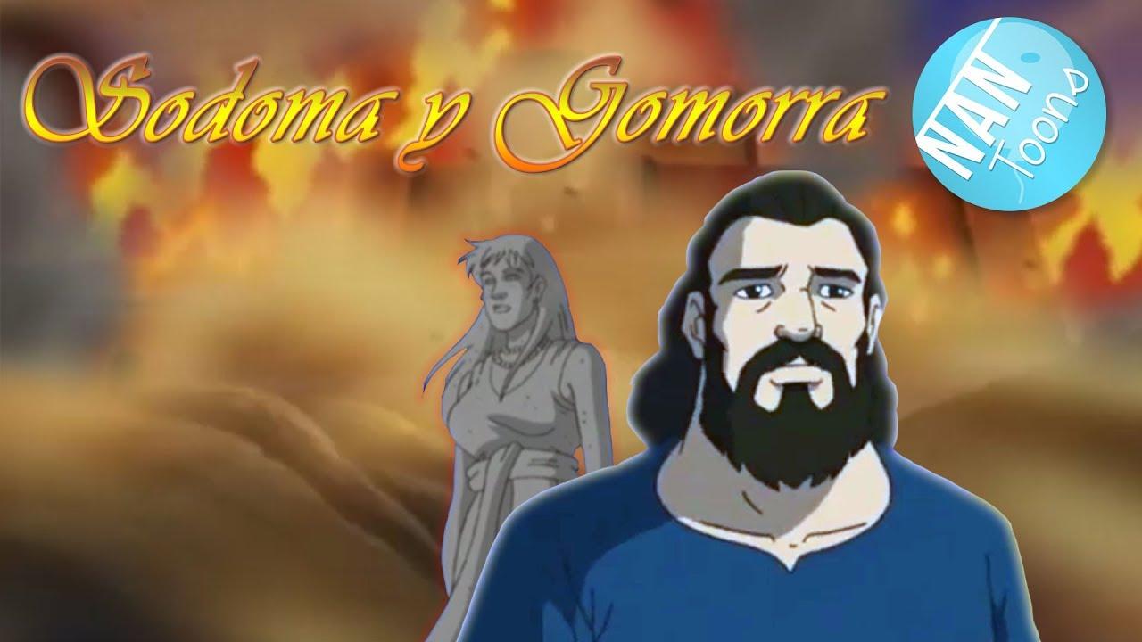 Ver Biblia para niños | SODOMA Y GOMORRA pelicula | El Antiguo Testamento | dibujos animados en español en Español