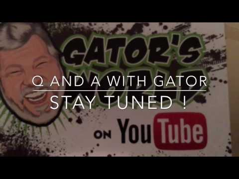 NEWS FLASH GATOR'S WORLD IS IN TOWN!