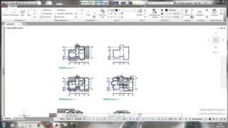 Урок 21  Листы AutoCAD, настройка видовых экранов AutoCAD, аннотативность
