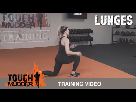 Lunge Variations: Jumping Lunges | Tough Mudder Training