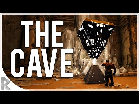 Rockets vs Golems & The Cave! - Ark Survival Evolved Scorched Earth DLC - Part 16