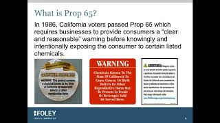 Top 10 Things Everyone Should Know About the Upcoming Changes to Prop 65