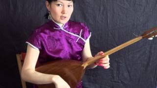 Видео урок № 2.ч.1 Постановка рук на калмыцкой домбре. Дакинова Оксана.