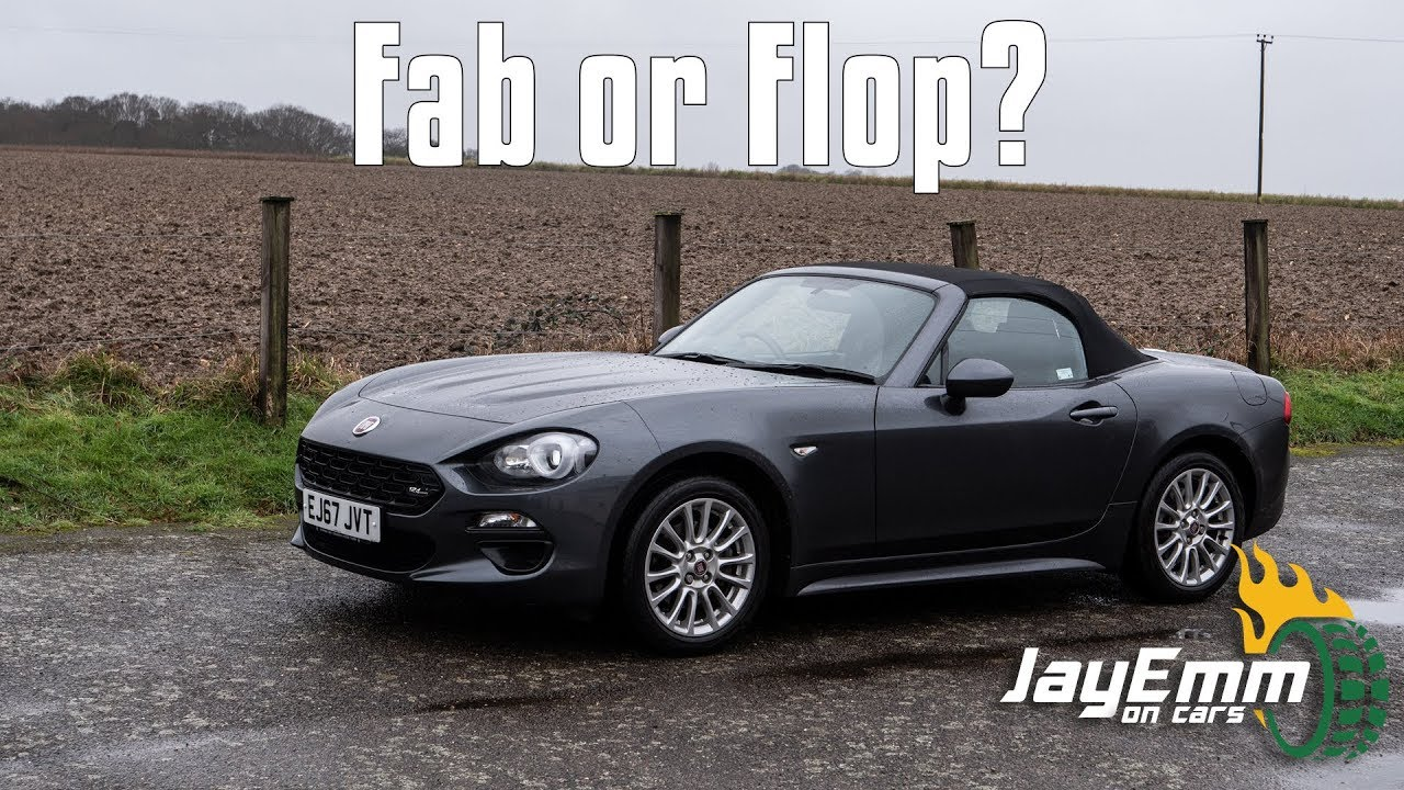 Fiat 124spider Review