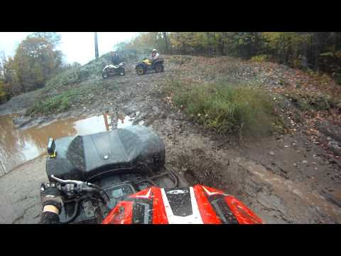 Hurley WI ATV Mud Hole 10/4/2013