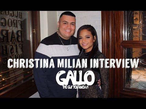 GalloTheGuyYouKnow: Christina Milian Interview (Season 4)