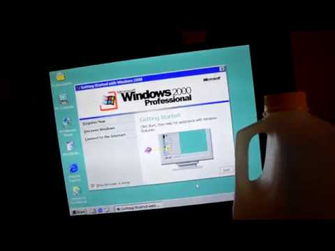 Living With Windows 2000 For 1 Week In 2018