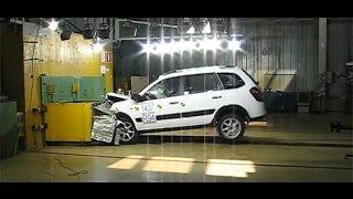 Краш тесты отечественных автомобилей. LADA Kalina Cross