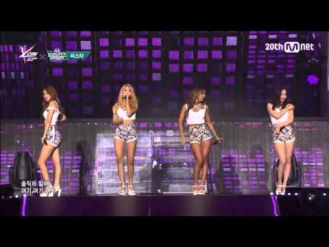 "Live HD   150423 SISTAR ""Touch My Body"" @ MNET KCON X 엠! 카운트다운"