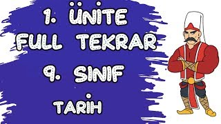 9. SINIF TARİH 1. ÜNİTE FULL TEKRAR - TARİH VE ZAMAN - TYT AYT