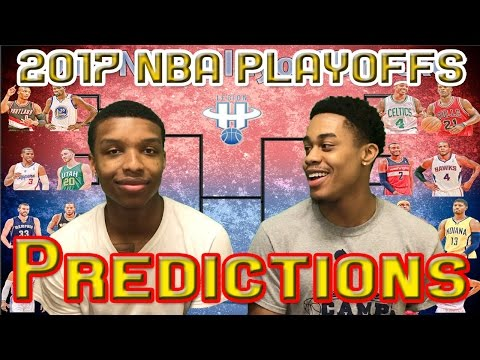 2017 NBA PLAYOFFS FIRST ROUND PREDICTIONS!!