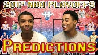 2017 NBA PLAYOFFS FIRST ROUND PREDICTIONS!!