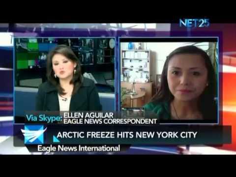Arctic blast hits New York - Ellen Aguilar reports