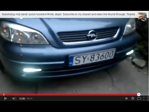 How To Mount The Lights For Daytime Driving Led Drl Automatic Start Up After Station