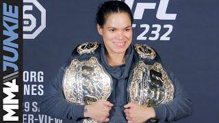 UFC 232: Amanda Nunes full post-fight interview