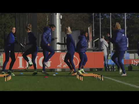Alex Morgan and USWNT Olympic team train ahead of Netherlands friendly