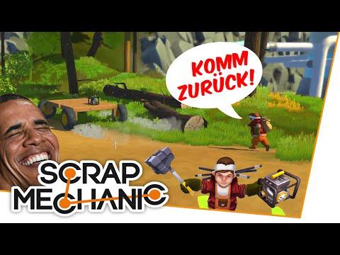 DAS AUTO FLÜCHTET! - Scrap Mechanic mit Niko & Christian