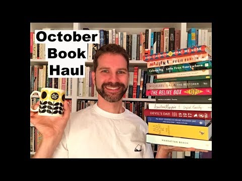 Book Haul / Exciting New Books Published in October 2017