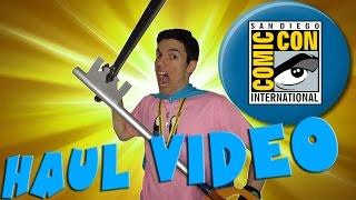Comic Con 2015 Haul Video
