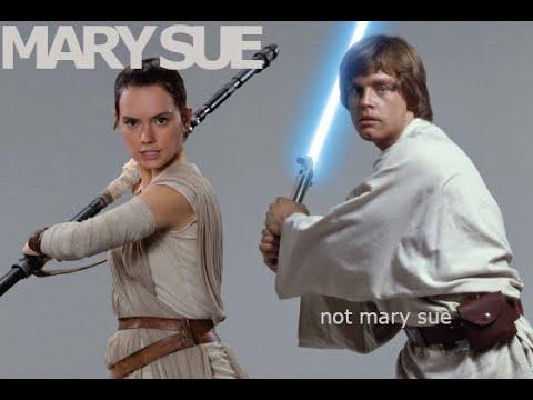 Luke? A Mary Sue Like Rey? (Response To CosmonautVarietyHour)
