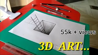 3D  painting  Pencil shading..
