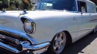 1957 Chevy Sedan Delivery Resto Mod