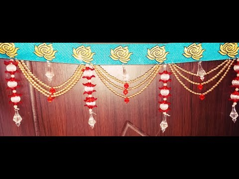 #Door hanging #Toran #How to make Toran at home #diy #Designer