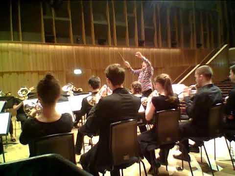A MOORSIDE SUITE (Holst) Royal Birmingham Conservatoire Brass Band/Allen